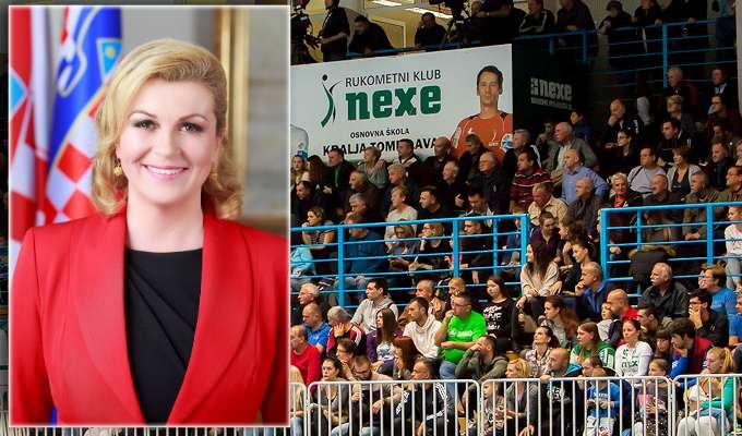 Predsjednica Republike Hrvatske dolazi u posjetu Rukometnom klubu Nexe