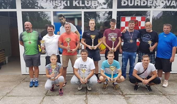 Teniski klub Đurđenovac – Održano natjecanje