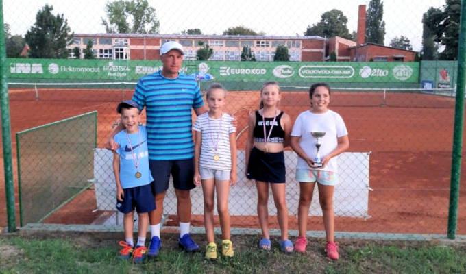 Teniski klub Našice nastupio na završnom Masters turniru